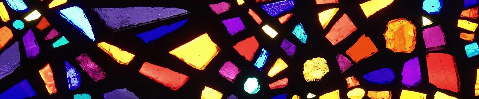 Fenster in der Kapelle St.Canisius in Köln