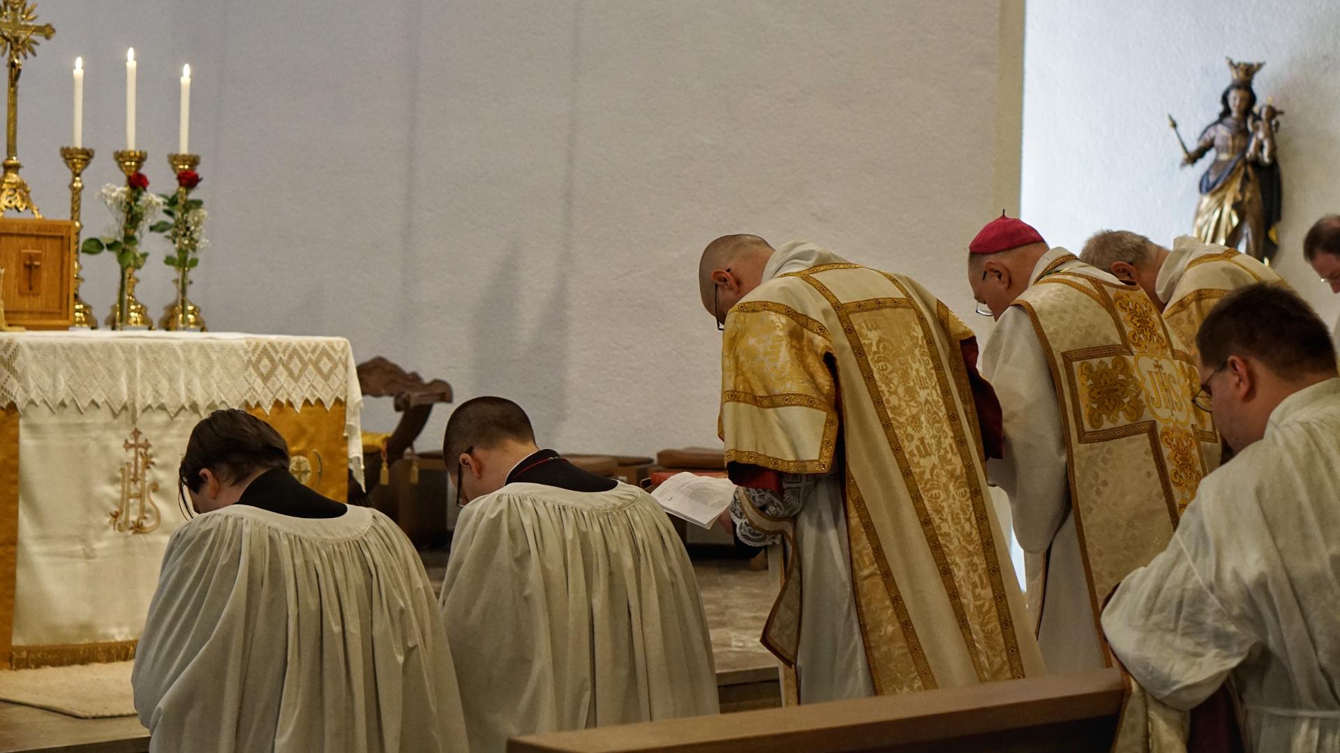 Diakonatsweihe — Marburg 2018